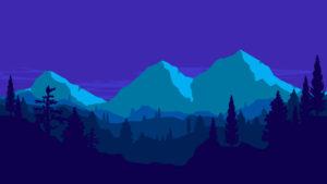 Sfondo Montagne