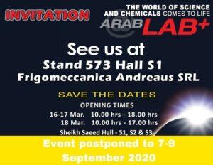Arab Lab - Evento Posticipato al 7 - 9 Settembre 2020